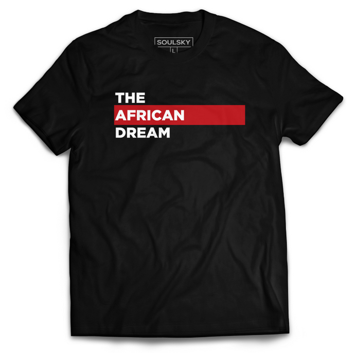 Best THE AFRICAN DREAM O-Neck T-Shirt - Black Online 2020