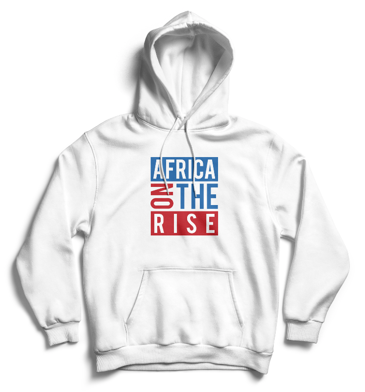 AFRICA ON THE RISE Hoodie - White