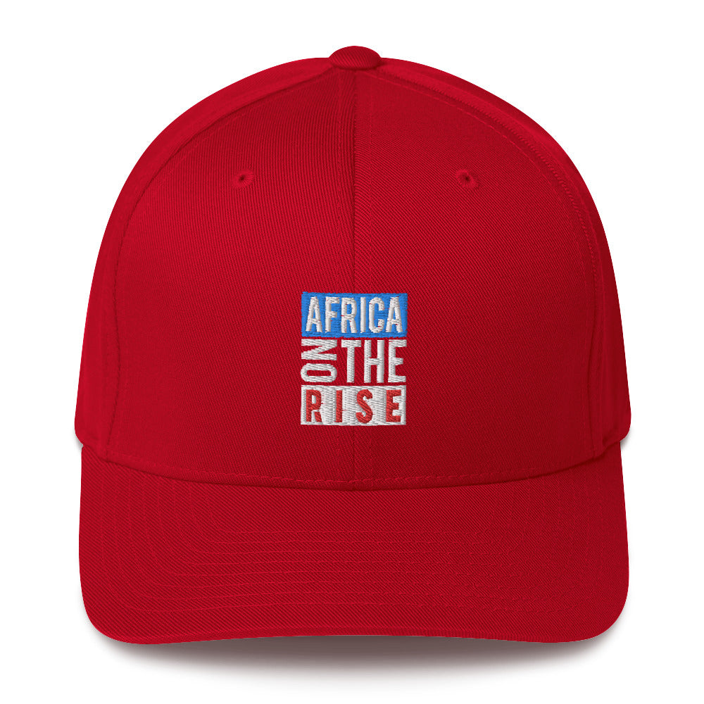 AFRICA ON THE RISE Baseball Cap - Red