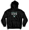 NEVER LOSE HOPE - Hoodie - Black - SOULSKY