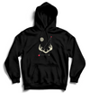 YOU ARE NOT ALONE Hoodie - Black - SOULSKY