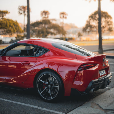 DRIVING THE ALL-NEW TOYOTA SUPRA