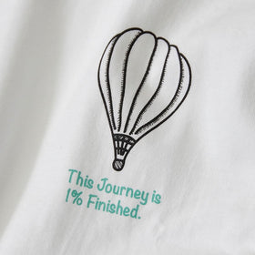 this journey 1% finished / 佐賀Tシャツ