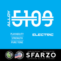 Sfarzo Alloy 5109 Bass 050 070 085 105 4 String Short Scale 32""
