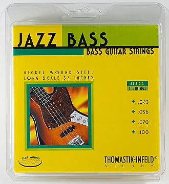 Thomastik-Infeld JF344 JAZZ Flatwound - 4 String Set