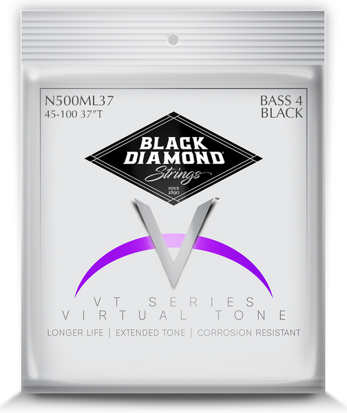 Black Diamond Four String Bass 45-100 N400ML37 Black