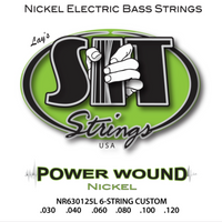POWER WOUND NICKEL BASS 6-STRING CUSTOM NICKEL BASS