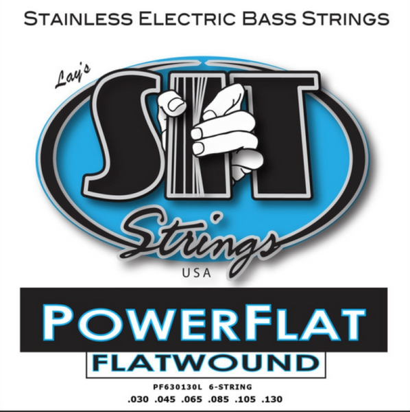 POWER FLAT FLATWOUND BASS 6-STRING LIGHT