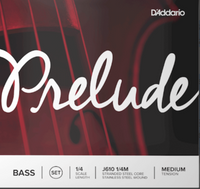Prelude Bass String Set, 1/4 Scale, Medium Tension