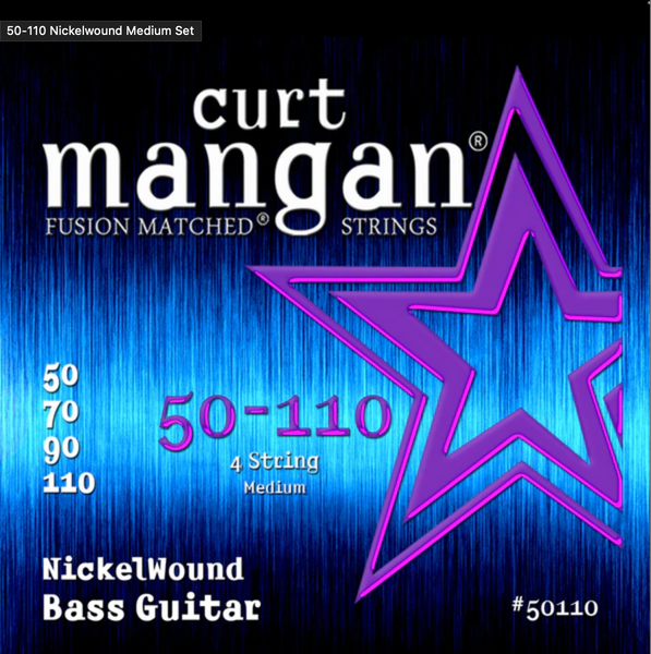 Curt Mangan 50-110 Nickelwound Medium Set