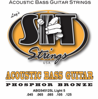 SIT ACOUSTIC BASS ABG545125L 5-STRING LIGHT ACOUSTIC PHOSPHOR BRONZE BASS