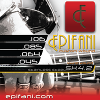Epifani Custom Bass Strings 4 string bass SK 45-64-85-106
