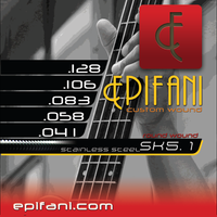 Epifani Custom Bass Strings 5 string bass SK 41-58-83-106-128