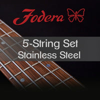 Fodera 5 String Stainless Steel 45-125