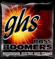 "GHS 5-STRING BASS BOOMERS - Light, 5 String (36.5"" winding) 40-120"
