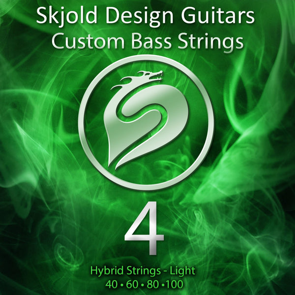 Skjold Bass Guitar Strings 4 String Bass Nickel