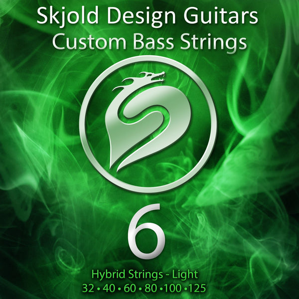 Skjold Bass Guitar Strings 6 String Bass Nickel