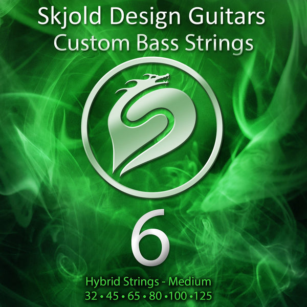 Skjold Bass Strings 6 String Bass Nickel