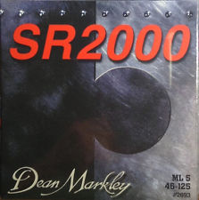 Dean Markley SR2000 5-String Bass Guitar Strings ML5 five string set 46-125 Part 3 2693