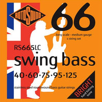Rotosound RS665LC Stainless Steel Swing 5-String Bass 40-60-75-95-125