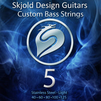 Skjold Bass Guitar String 5 String Bass Steel