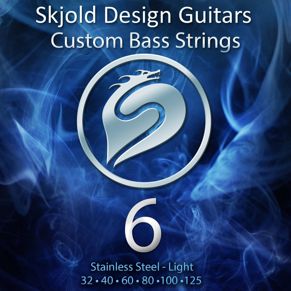 Skjold Bass Guitar Strings 6 String Bass Steel