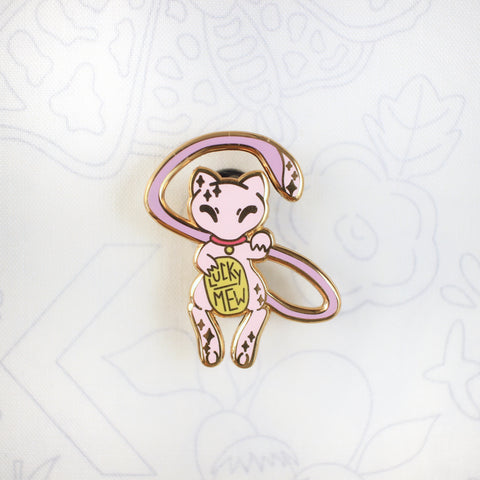 Lucky Mew - Hard Enamel Pin
