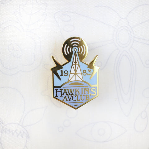Hawkins AV Club - Hard Enamel Pin