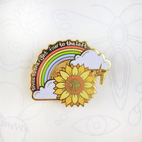 Sunflower - Hard Enamel Pin