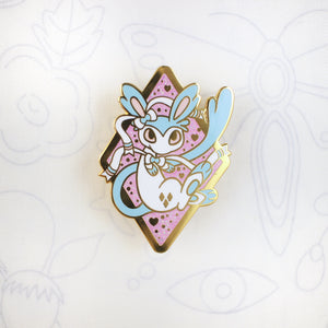 Shiny Sylveon - Hard Enamel Pin