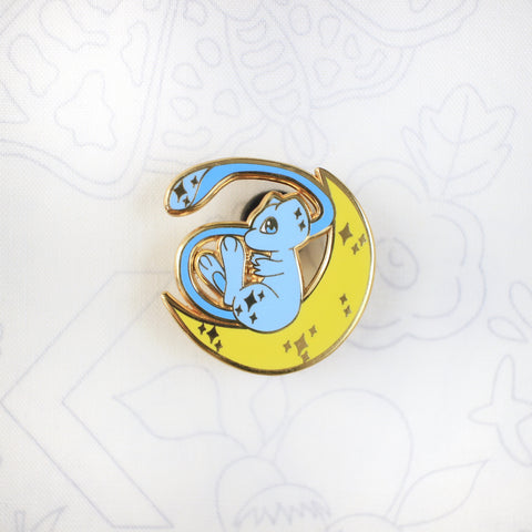 Shiny Mew Moon - Hard Enamel Pin