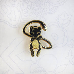 Blackout Lucky Mew - Hard Enamel Pin