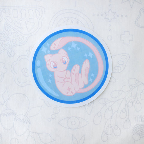 Bubble Mew Sticker