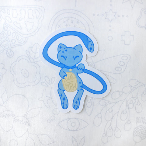Shiny Lucky Mew Sticker
