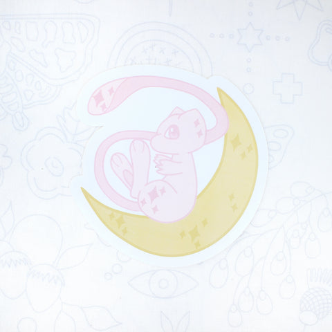 Mew Moon Sticker