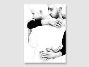 'The Claddagh Embrace' -  Print