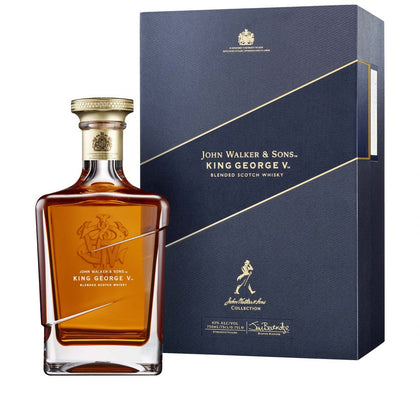 WHISKY JOHN WALKER KING GEORGE V.