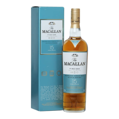 WHISKY MACALLAN 15 AÑOS TRIPLE CASK MATURED