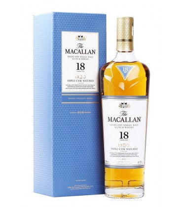 WHISKY MACALLAN 18 AÑOS TRIPLE CASK MATURED