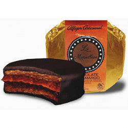LA MARSELLESA - ALFAJOR DE CHOCOLATE SEMI AMARGO 70 G