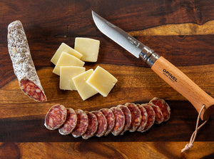 Driftless Provisions how to serve salami:  slice thin, serve at room temperature