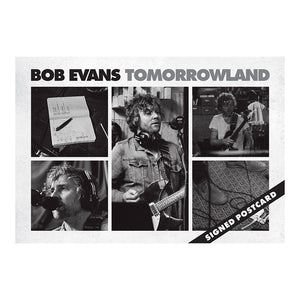 Bob Evans | Tomorrowland (DIGITAL DOWNLOAD) + T-Shirt + Signed Postcard + Keyring