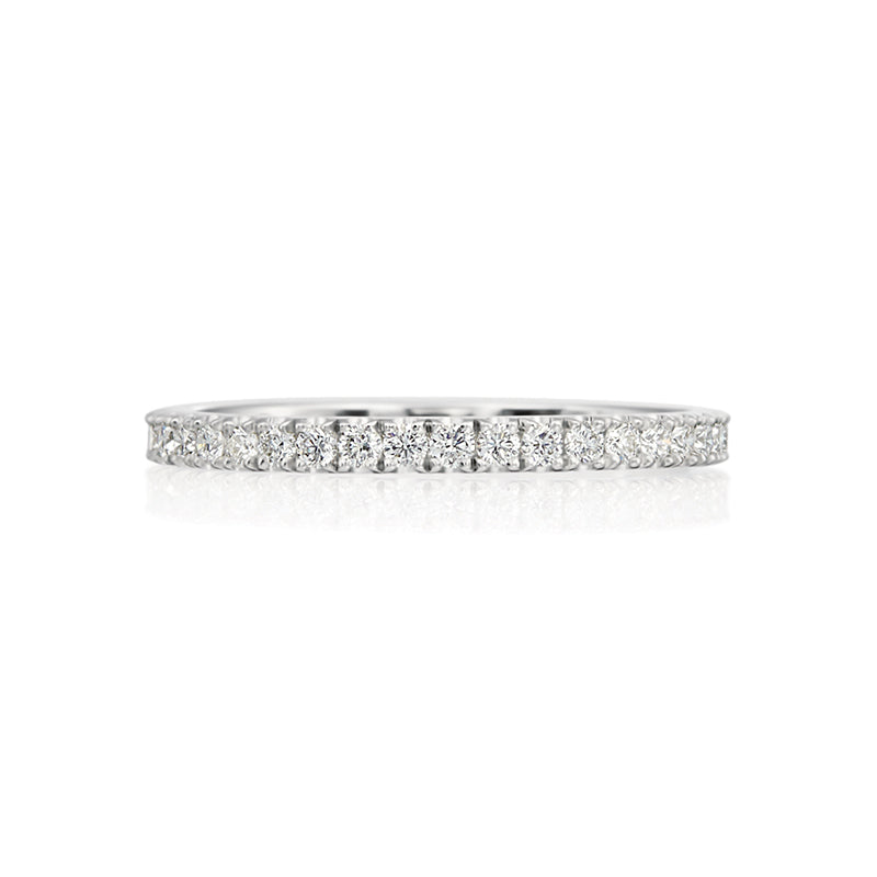 Moyer Collection 14k Gold 0.39ctw Round Brilliant Cut Diamond Band- 073318