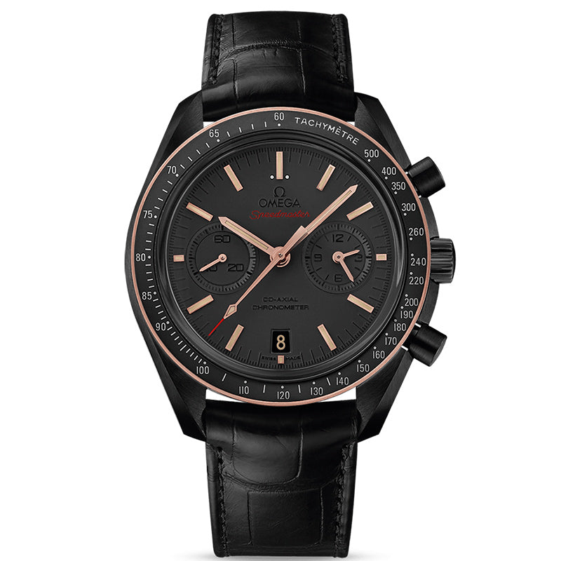 Omega Speedmaster Dark Side of the Moon Co-Axial Chronometer Chronograph Sedna Black- 311.63.44.51.06.001