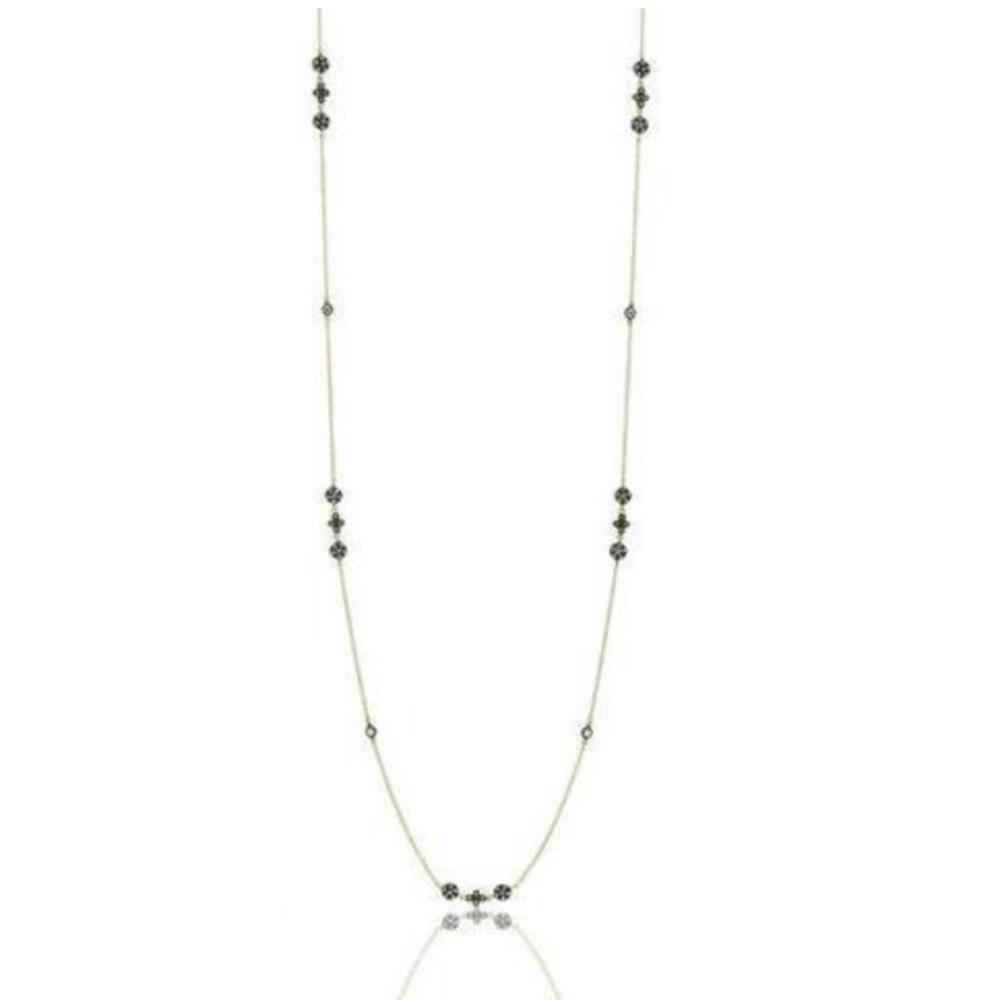 A fabulous layering piece, this necklace is able to be worn long or doubled. Layer it with one of Freida Rothmans shorter pendants for a style all your own!