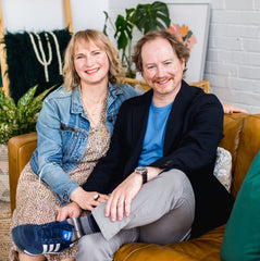 Sarah and Wes Peel are the founders of Petit Soleil Studio