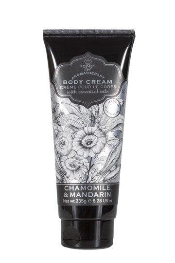Chamomile and mandarin body cream from Empire Australia