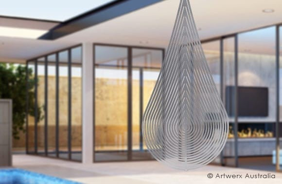Flame Premium wind spinner from Artwerx Australia