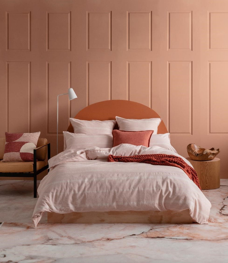 Balmoral Blush quilt cover set from Kas