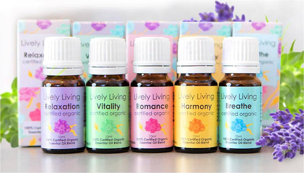 Lively Living Everday Essential Oil Collection
